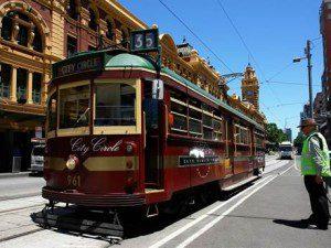 Melbourne tram services