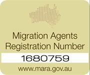 Registered with the Migration Agents Authority in Australia