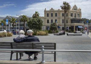 Elderly Couple in Auckland